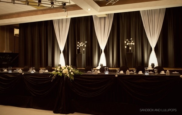 Head Table Backdrops