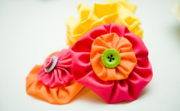 Fabric Flowers Unmistakably You