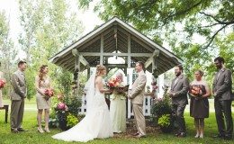 Gazebo wedding Unmistakably You