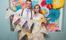 Pinwheel photo booth Unmistakably You