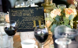 Rustic wedding centerpiece Unmistakably You