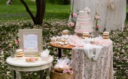 Spring dessert table Unmistakably You