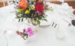 Wildflower centerpiece Unmistakably You